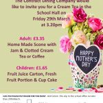 Mothers Day Afternoon Tea Poster PEARESWOOD